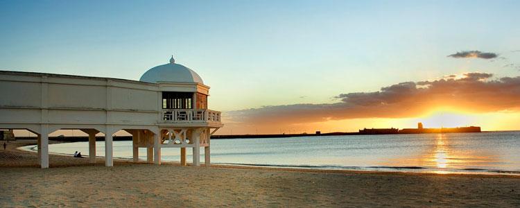 Cadiz Playa La Caleta
