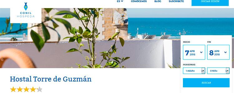Conil Hospeda Hostal Torre de Guzman